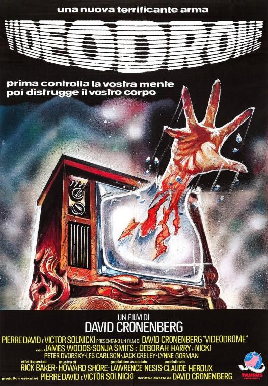 Videodrome Italian Poster