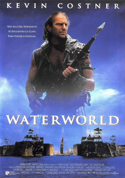 Waterworld Spanish poster