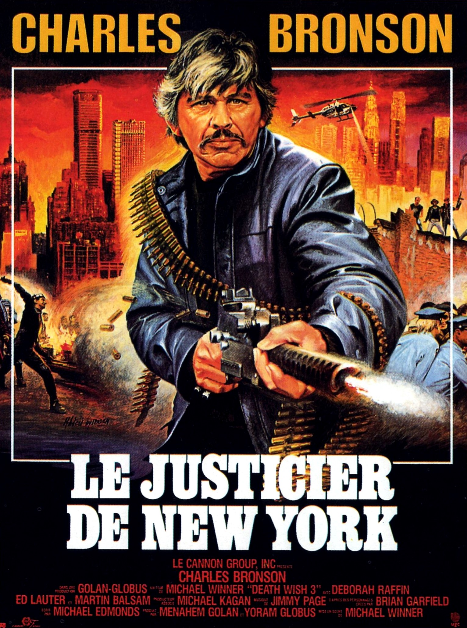 Death Wish 3 French poster