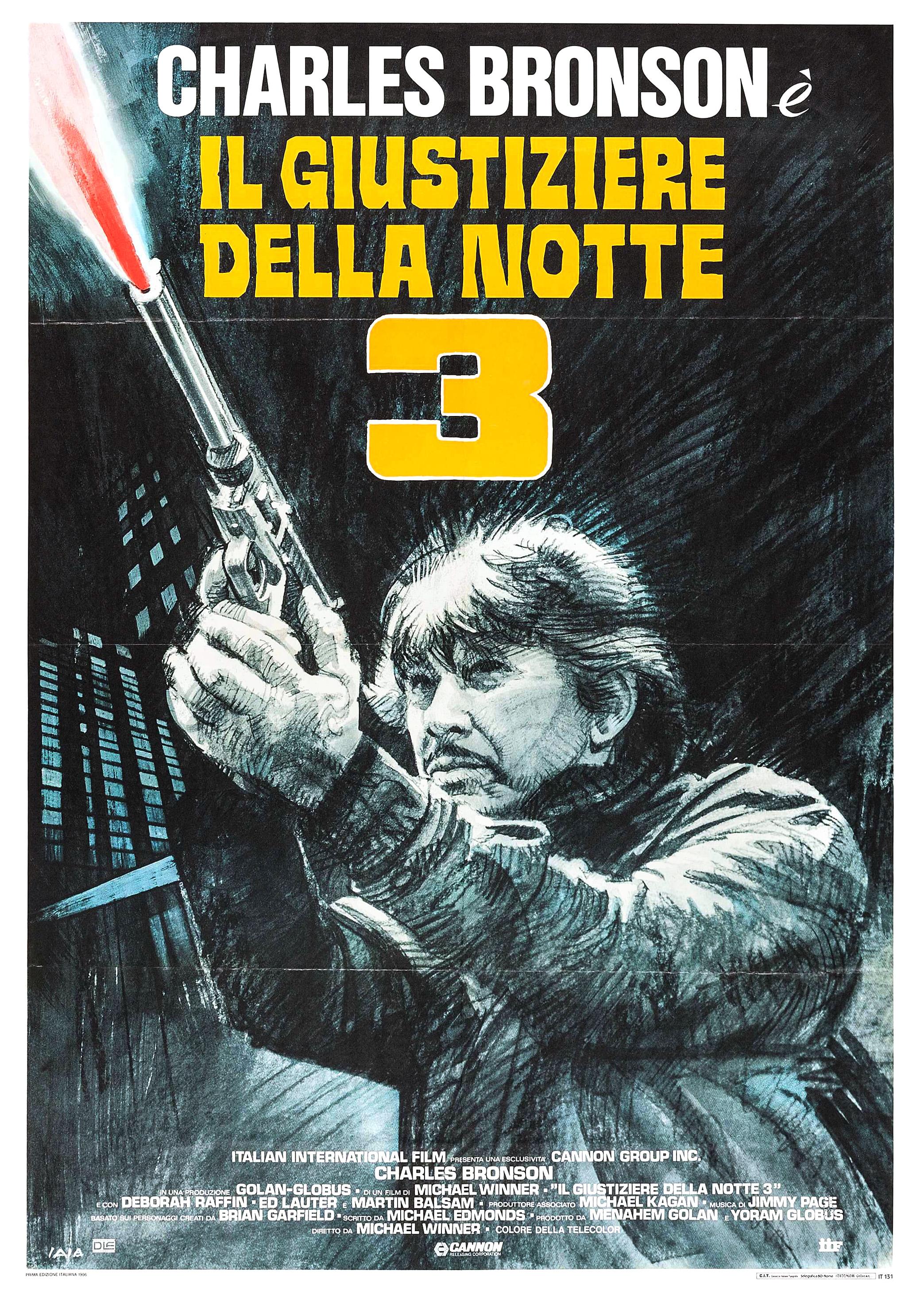 Death Wish 3 Italian poster