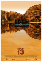 Friday the 13th poster Scott Hopko