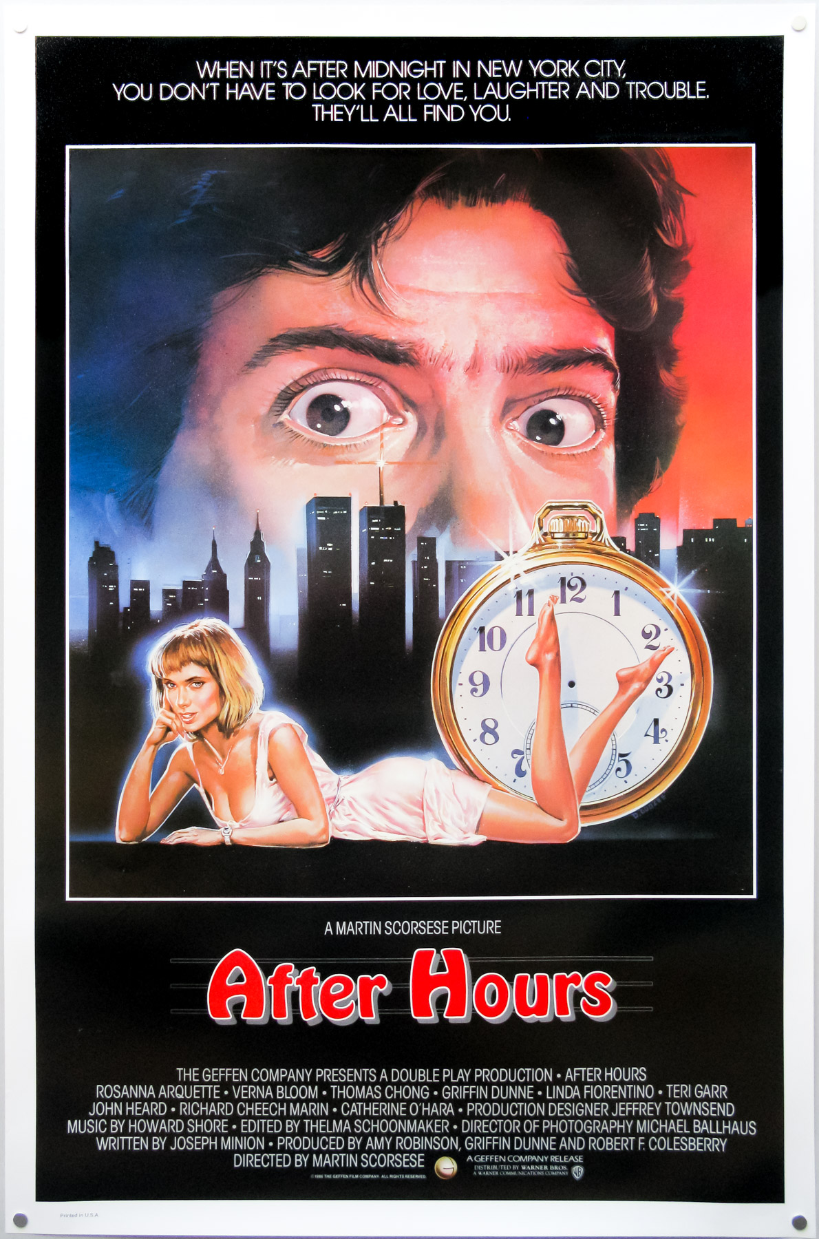 after hours alternate poster
