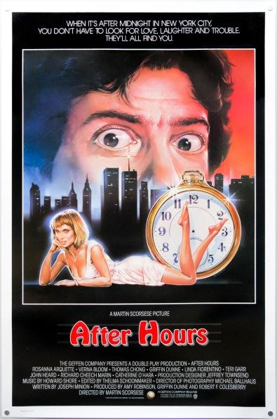 after hours alternate poster