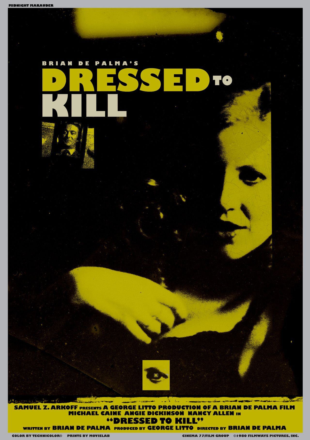 dressed to kill alternate poster