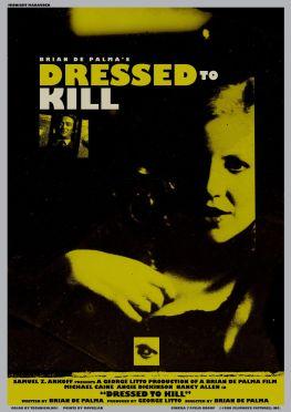 dressed to kill alternate poster