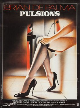 dressed to kill french poster
