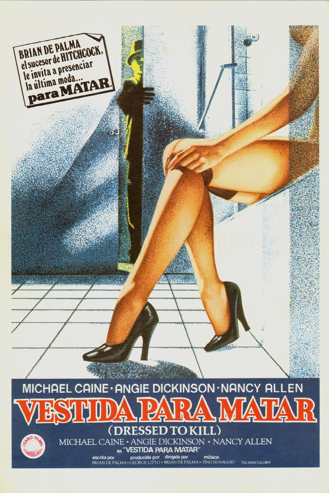 dressed to kill spanish poster