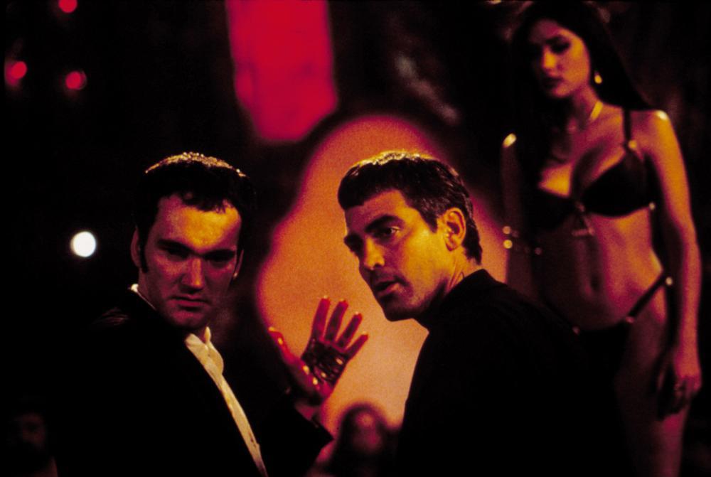 From Dusk Till Dawn Clooney and Tarantino