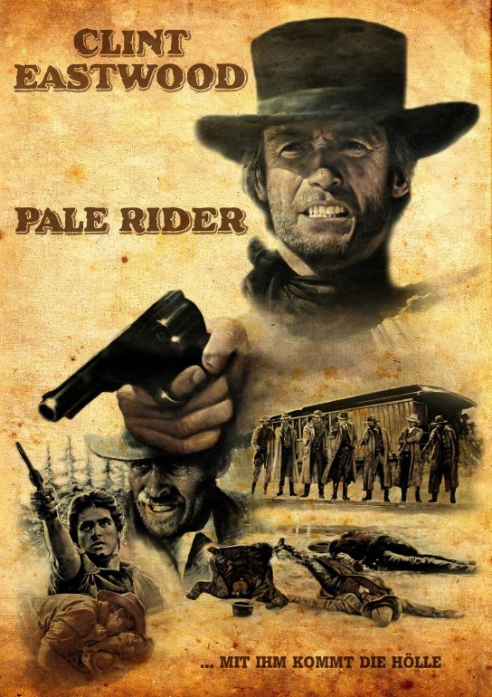pale rider german poster