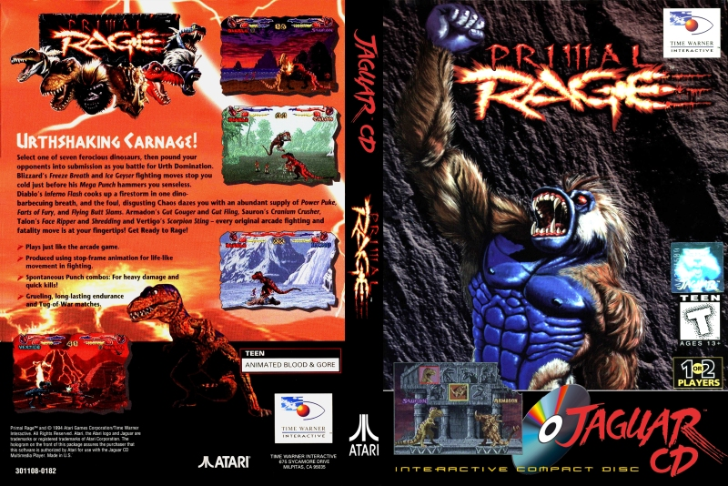Primal Rage Jaguar