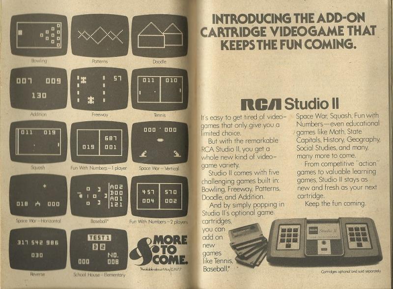 rca studio ii booklet