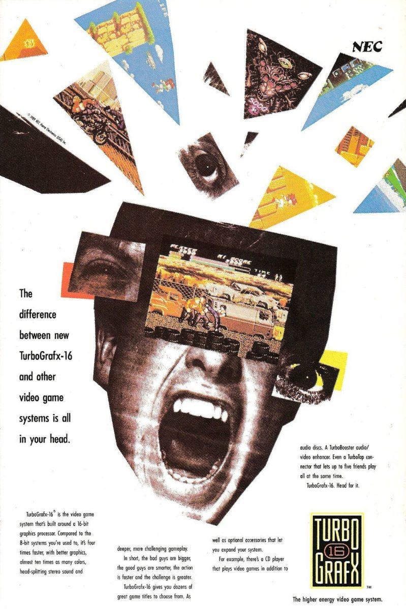 TurboGrafx16 ad
