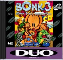 TurboGrafx16 Bonk 3