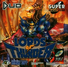 TurboGrafx16 Lords of Thunder