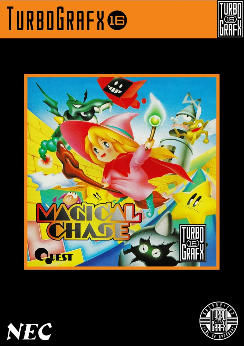 TurboGrafx16 Magical Chase