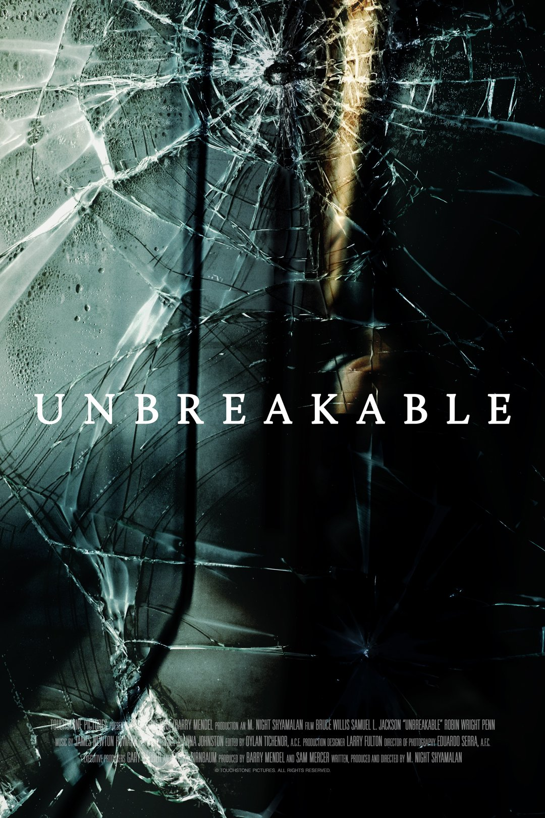 unbreakable alternate poster