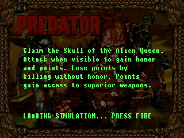 AVP Atari Predator