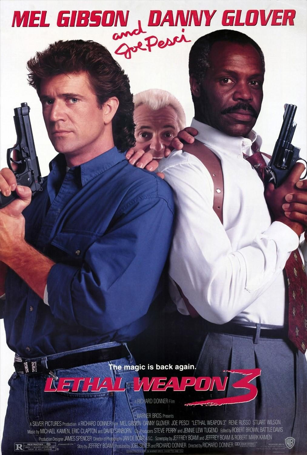 Lethal Weapon 3 French poster