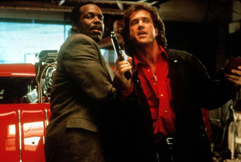Lethal Weapon 3 Riggs and Rog