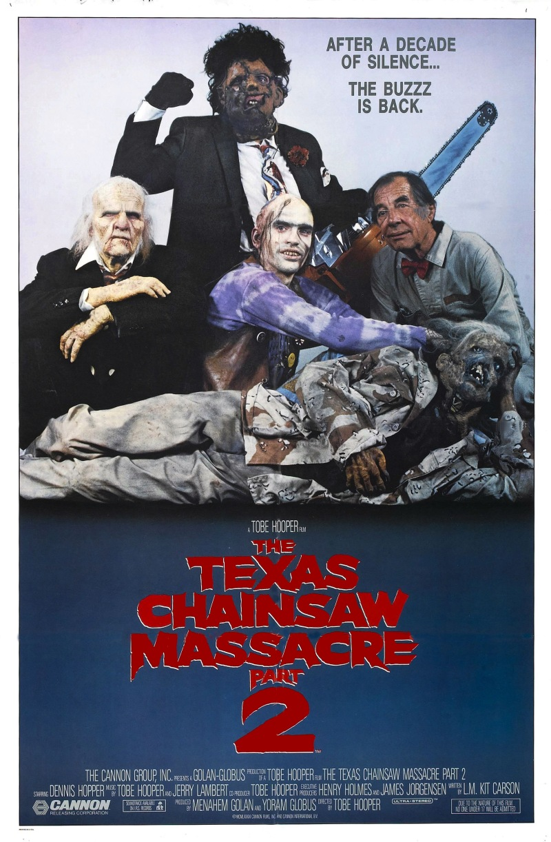 Texas Chainsaw Massacre 2 poster