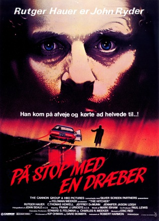 The Hitcher Norweigan poster