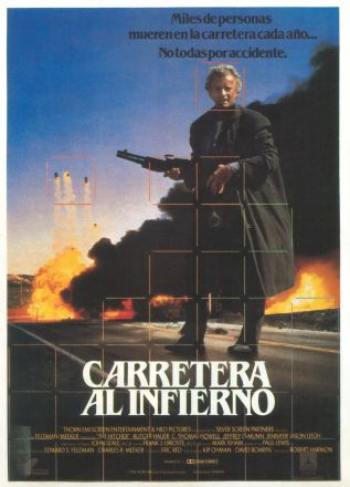 The Hitcher Spanish poster