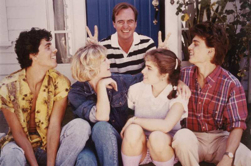 Wes Craven and Elm Street cast