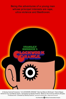 A Clockwork Orange alternate poster 2