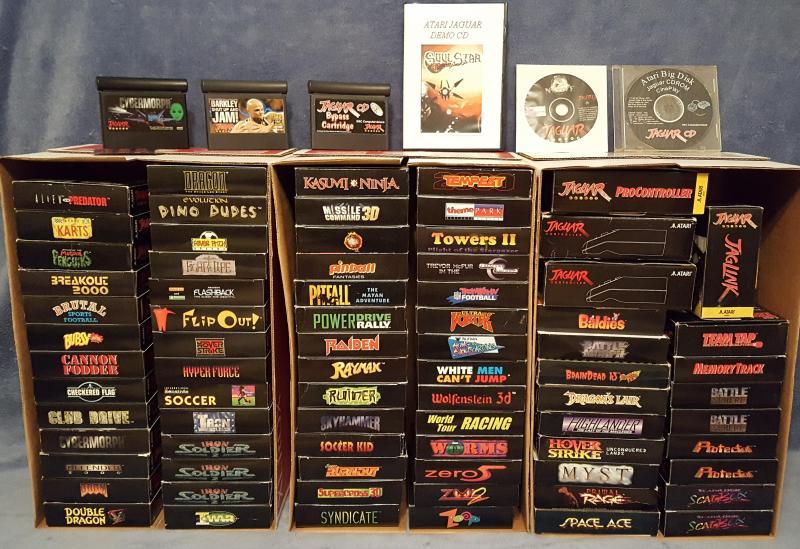 Atari Jaguar games library