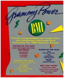 BMI Grammy Power