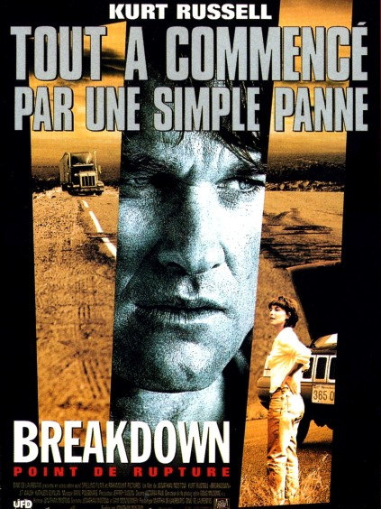 Breakdown French poster
