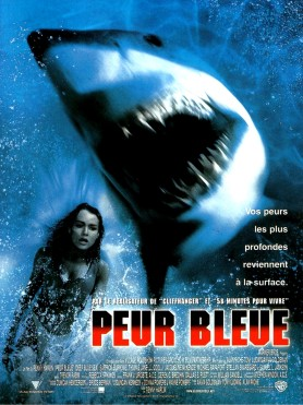 Deep Blue Sea French poster