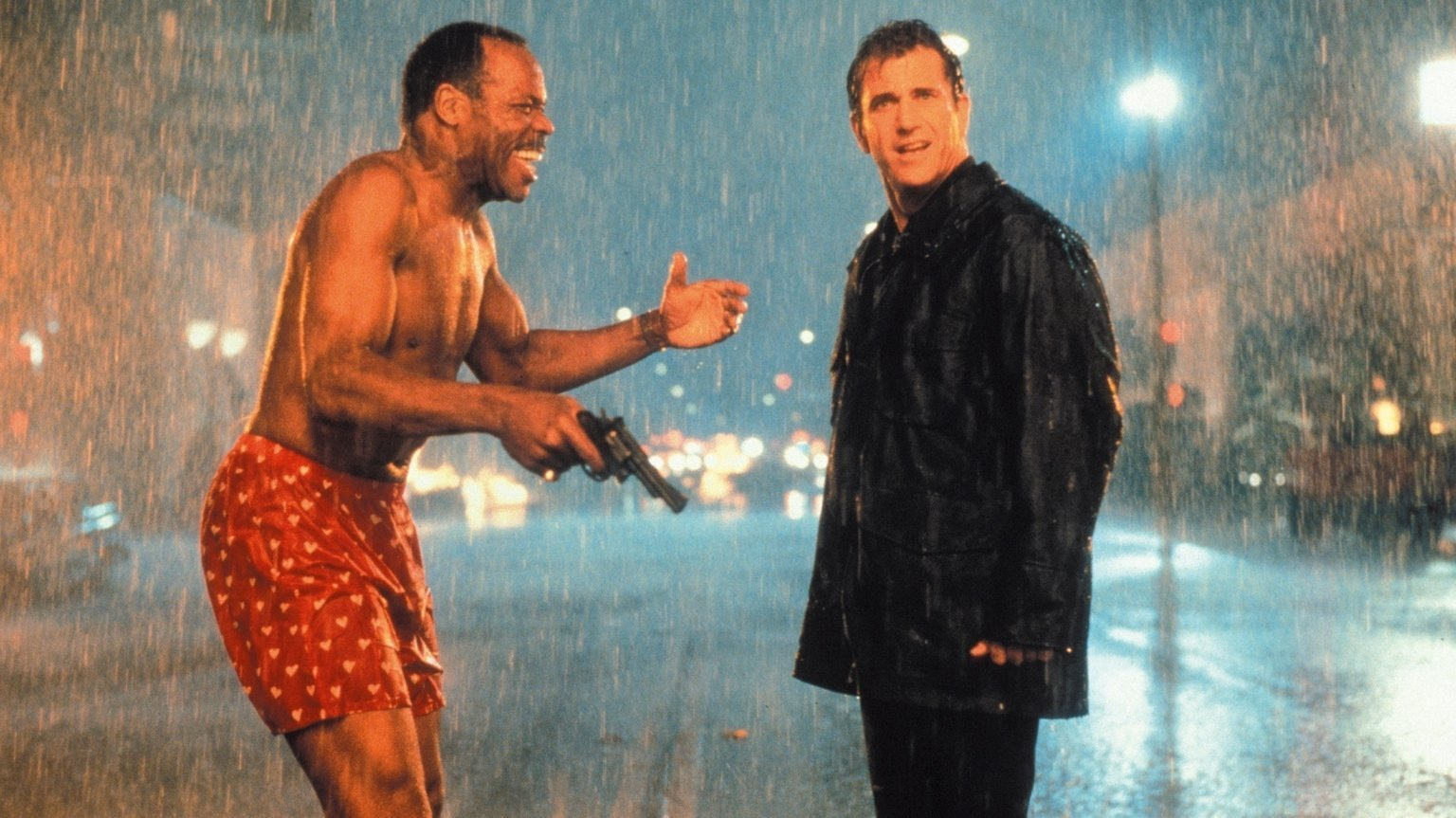 Lethal Weapon 4 opening scene