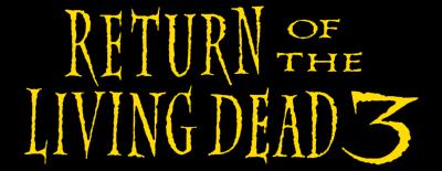 Return of the Living Dead 3 logo