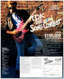TDK Billboard Song Contest