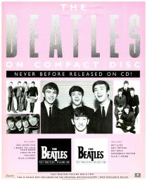 The Beatles on Compact Disc