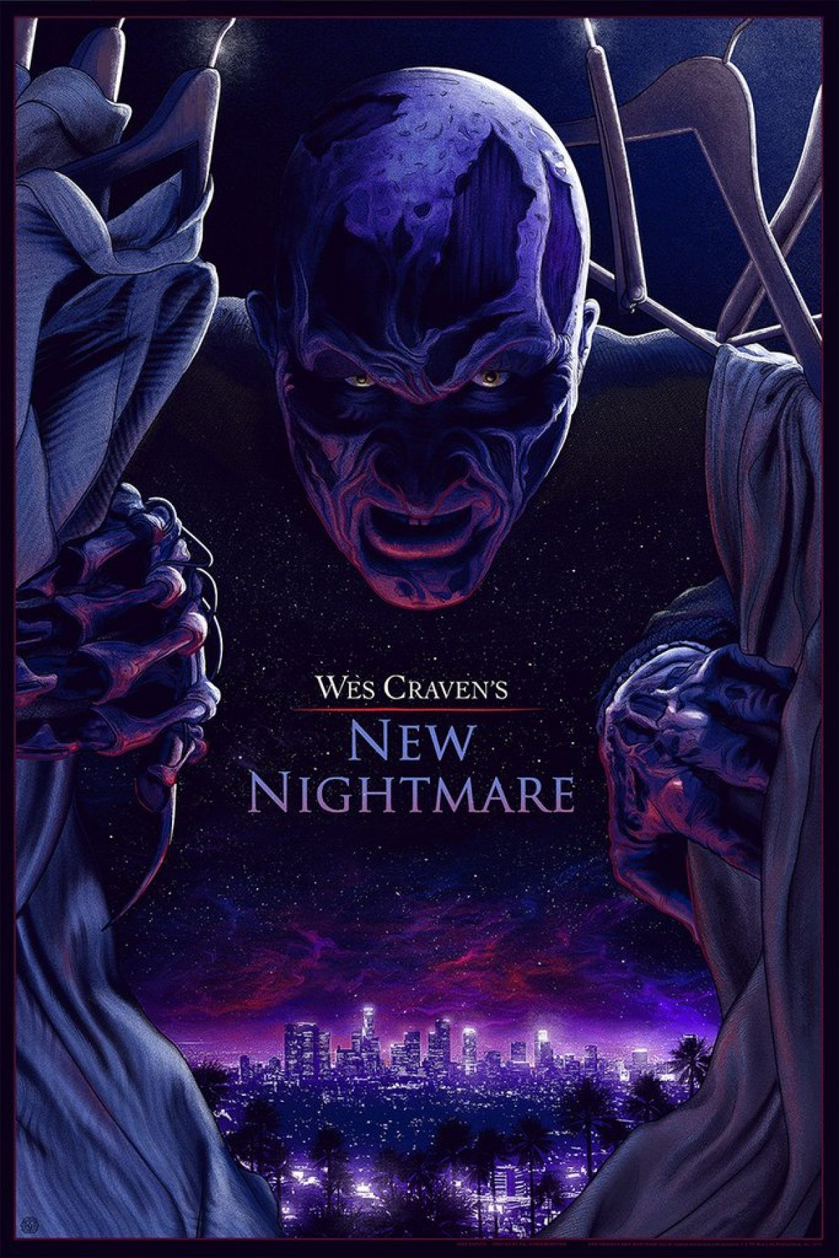 Wes Craven's New Nightmare alternate poster
