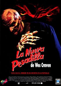 Wes Cravens New Nightmare Spanish poster