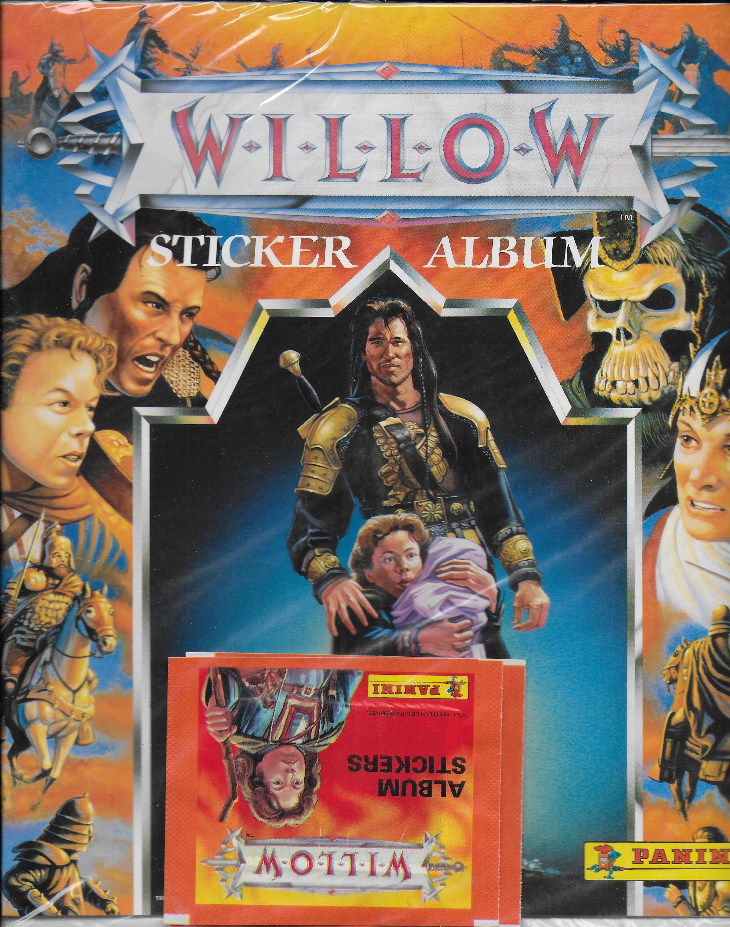 Willow sticker album