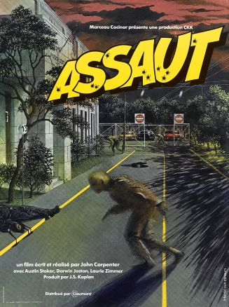 Assault on Precinct 13 French poster