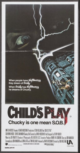 Child's Play Australian poster
