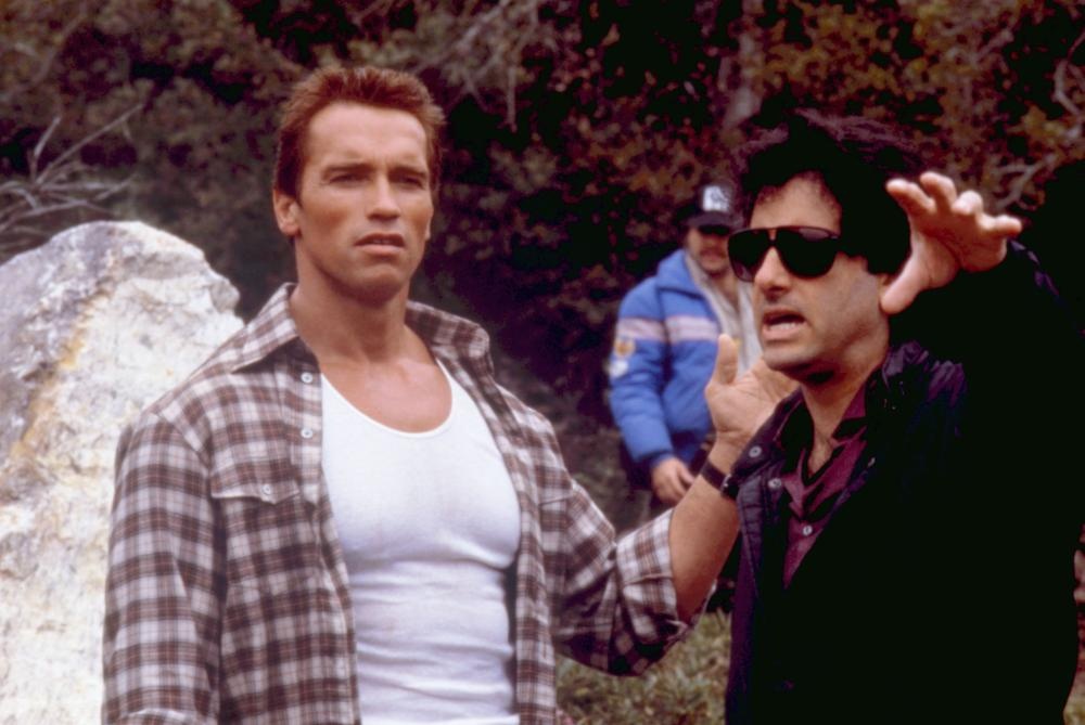 Commando behind the scenes
