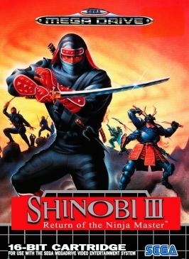 Shinobi III Mega Drive