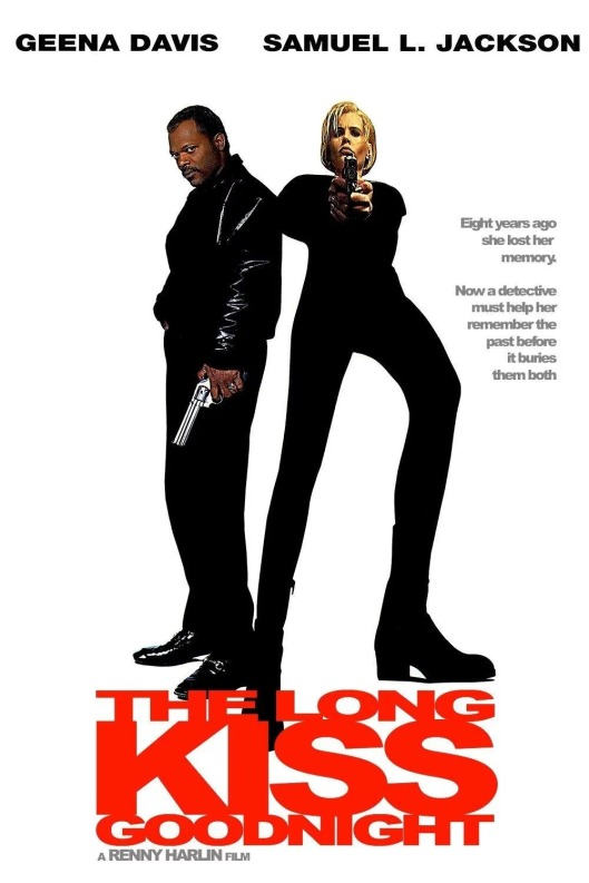The Long Kiss Goodnight VHS cover