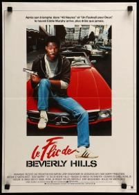 Beverly Hills Cop French poster