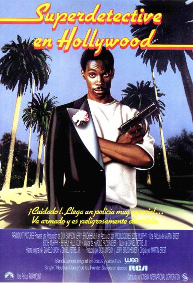 Beverly Hills Cop Spanish poster