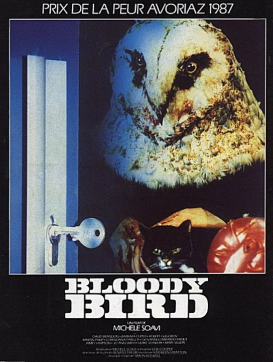 Bloody Bird French poster