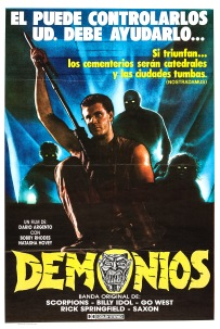 Demons Spanish poster