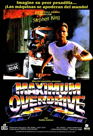 Maximum Overdrive Spanish poster