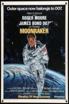 Moonraker alternate poster